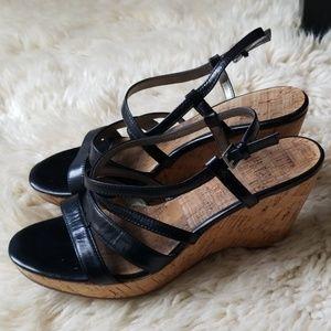 Bandolino Strappy Wedge Sandals